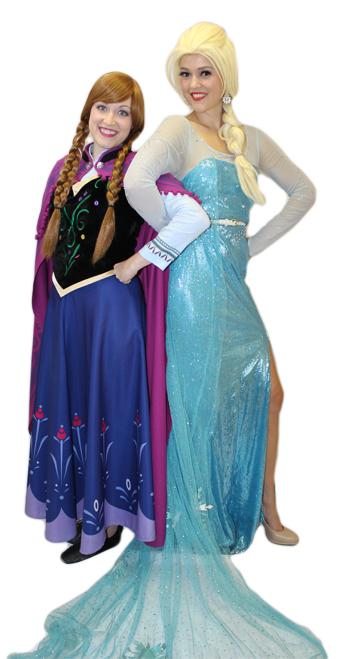 Anna & Elsa - ads